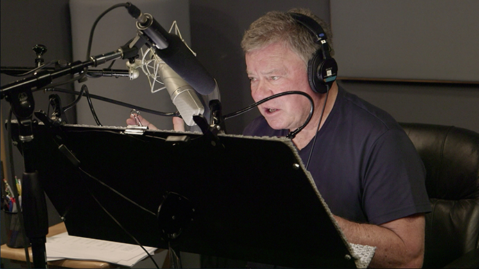 Why William Shatner Voiced a Punny Plant Puppet