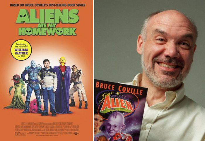 Bruce Coville's 'Aliens Ate My Homework' movie, feat. William Shatner, now on DVD