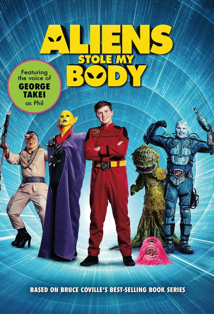 Aliens Stole My Body Key Art