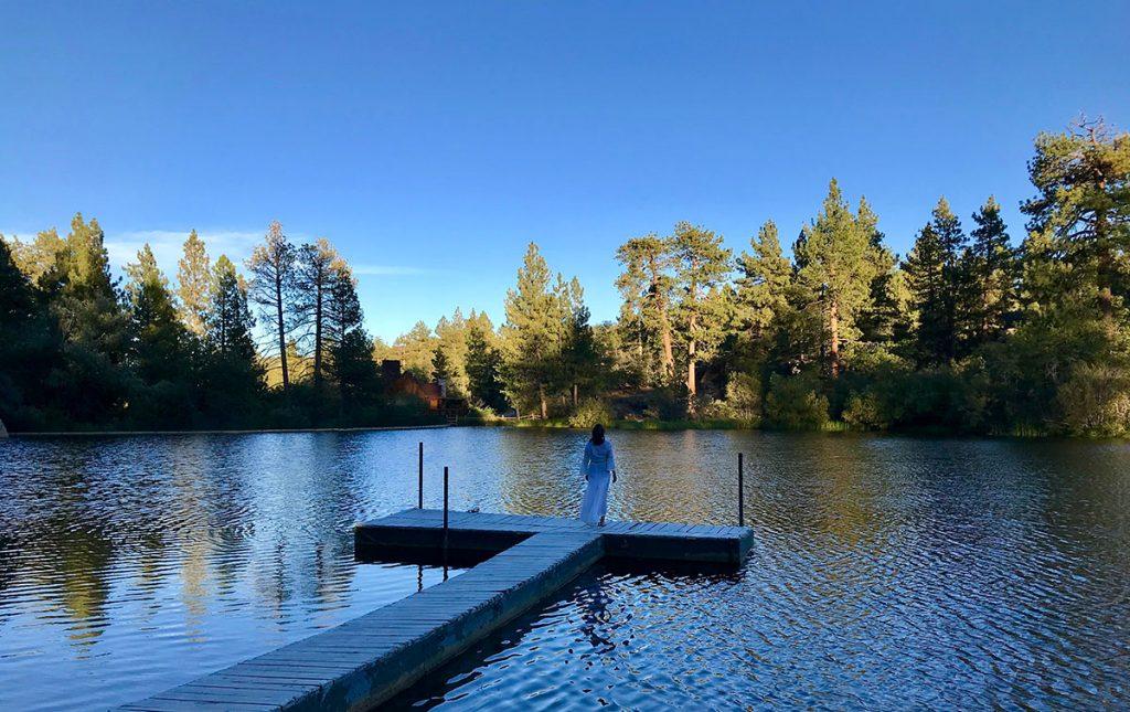 Alma Pond view - laycarnagey